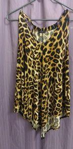 Cute Cheetah Blouse